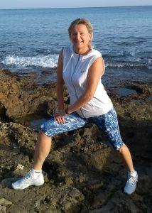 Fitnesstrainerin Vera Popp