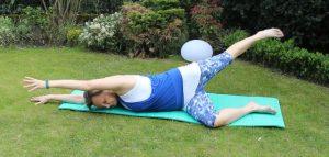 Pilates Ruecken Fitnessuebung