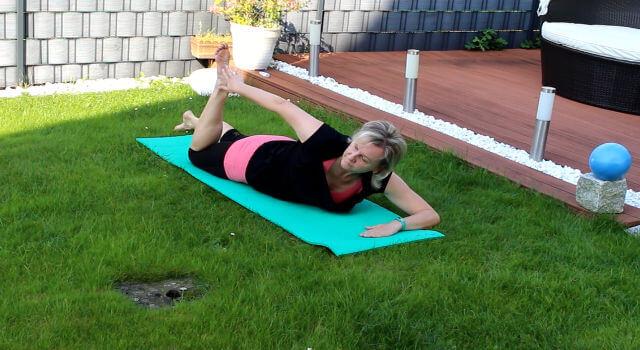 Rueckenuebung Pilates