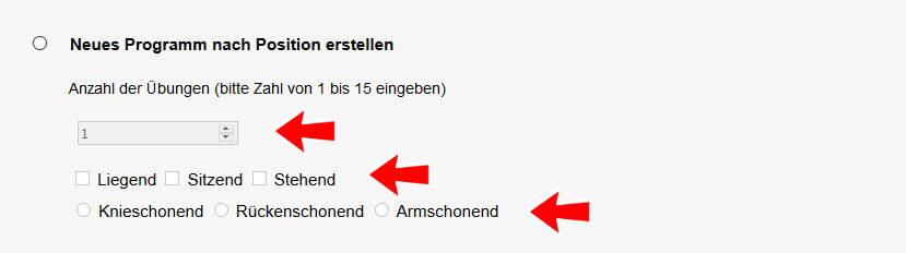 Programmgenerator Suchfeld 2