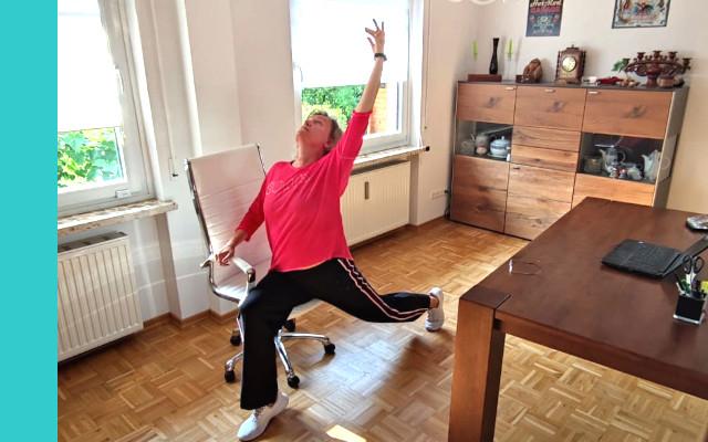 Streching Fitnessübung
